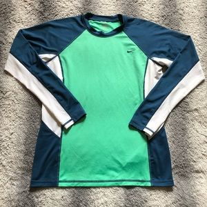 Nike Dri Fit Long Sleeve Tee Men's Medium